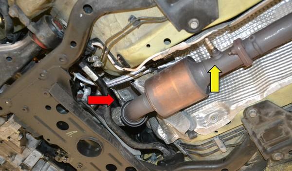an oxygen sensor