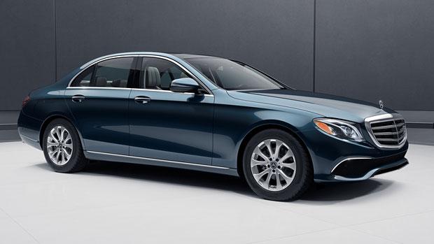 Angular-front-of-a-Mercedes-E-class