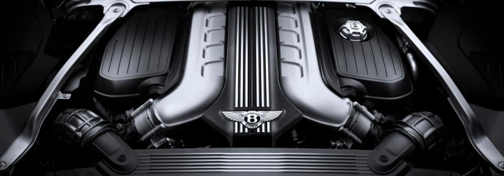 a bentey continential gt's engine