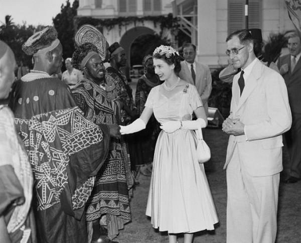 Queen Elizabeth II in Africa