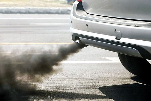 a car produces high emission