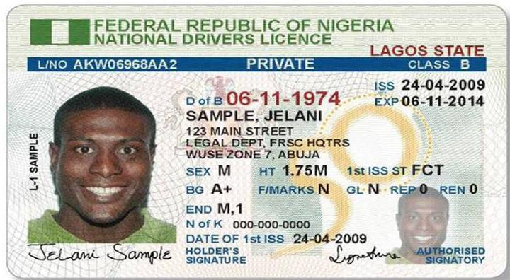 a-class-B-driving-license