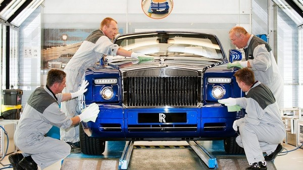 Rolls-Royce-production