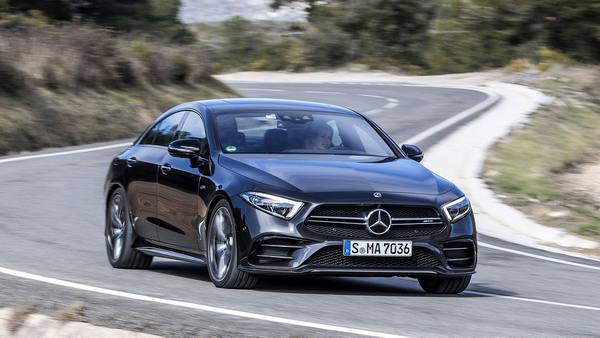 2019-Mercedes-AMG-CLS-53-running-on-road