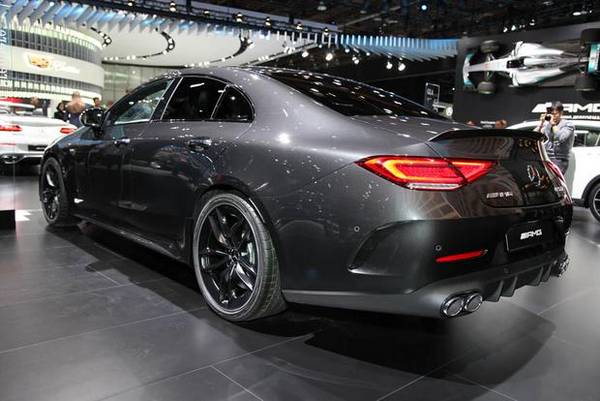 Angular-rear-of-the-2019-Mercedes-AMG-CLS-53S