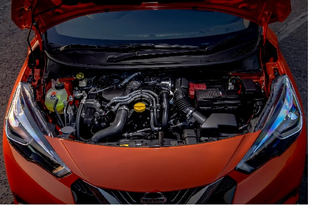 Engine-of-the-Nissan-Micra