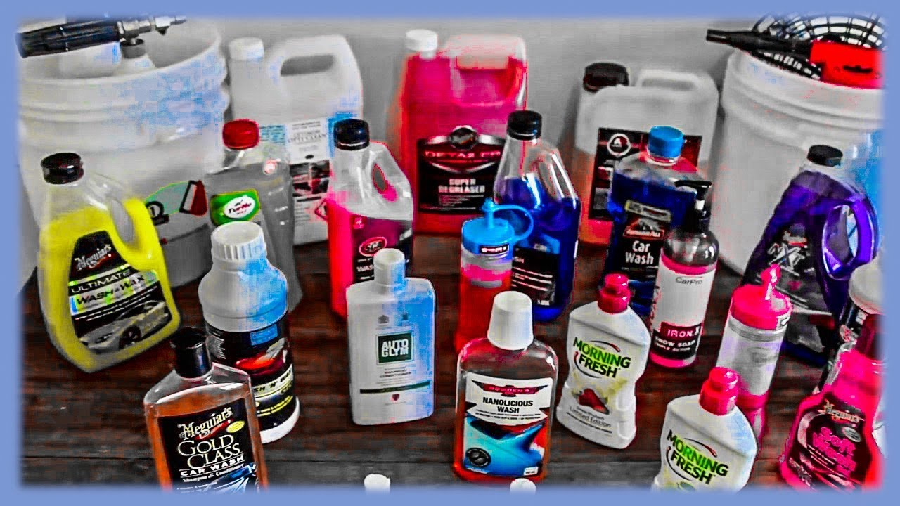 Car-wash-products