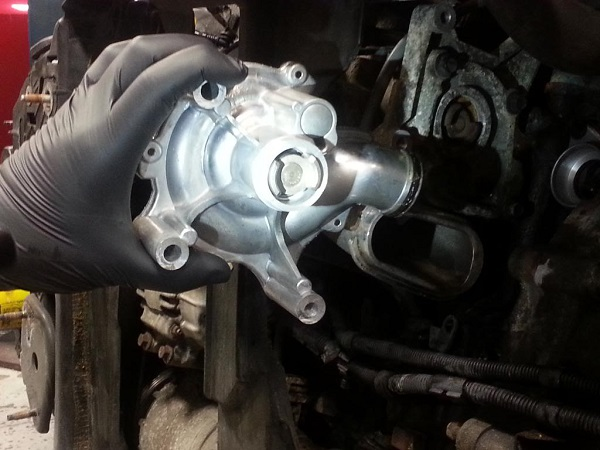 Vehicle Water Pump Replacement
