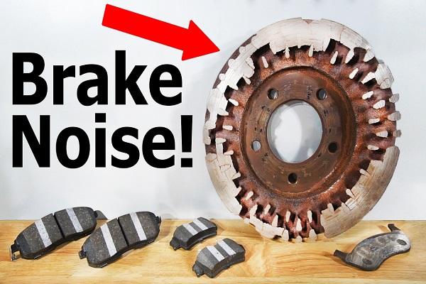 Rusty-brake-parts