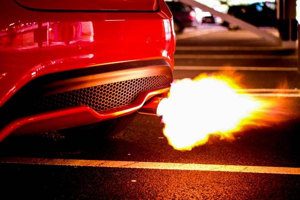 car-s-exhaust-burning-fire