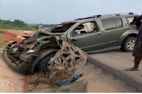 Yul-Edochie's-wrecked-car