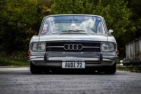 an-old-Audi-car