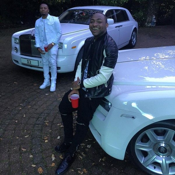 Olamide-and-Davido-Rolls-Royce
