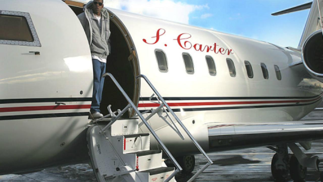 Jjay-Z's-private-jet