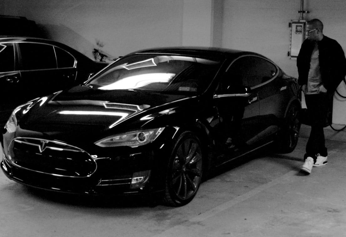 Jay-z's-Tesla