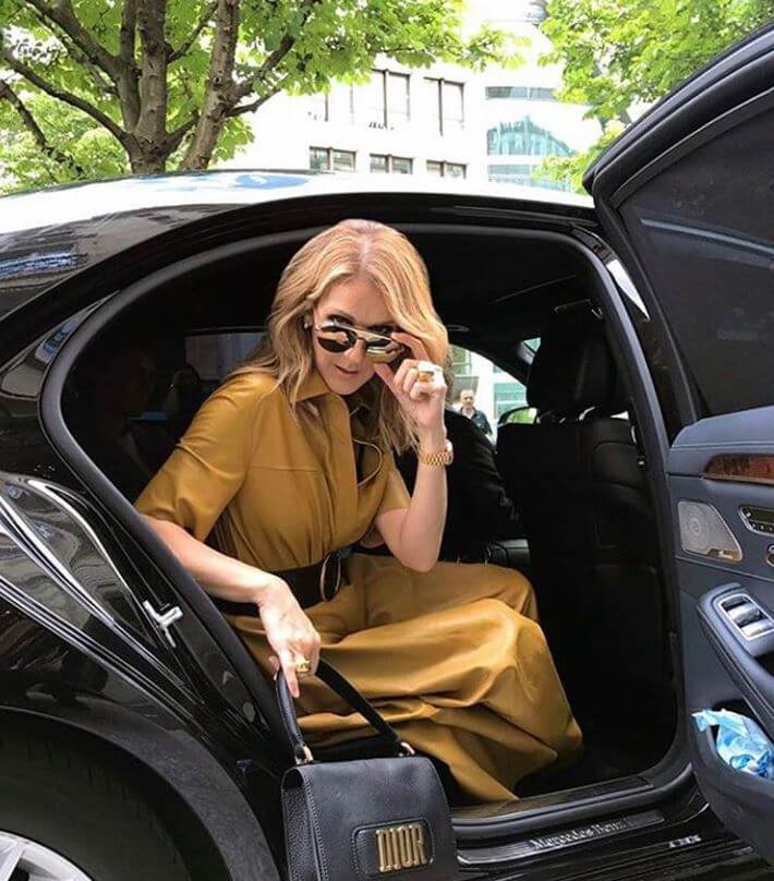 celine-dion-in-one-of-her-cars