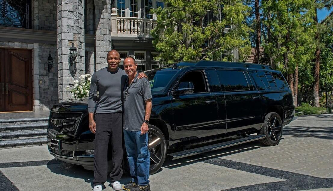 Dr-Dre and his Escalade
