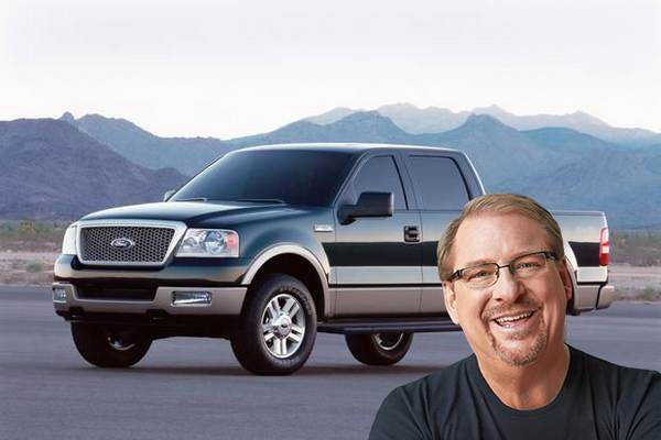 ford-truck-of-rick-warren