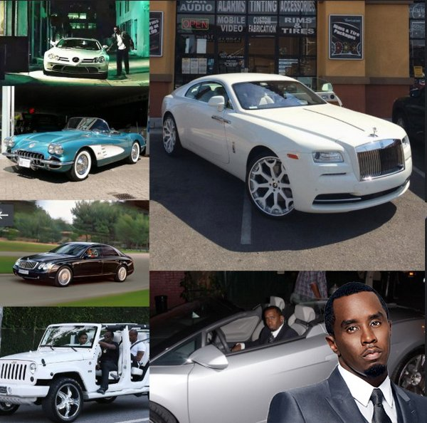 Diddy-car-collection