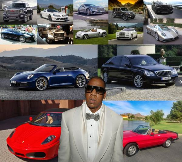 Jay-Z car collection