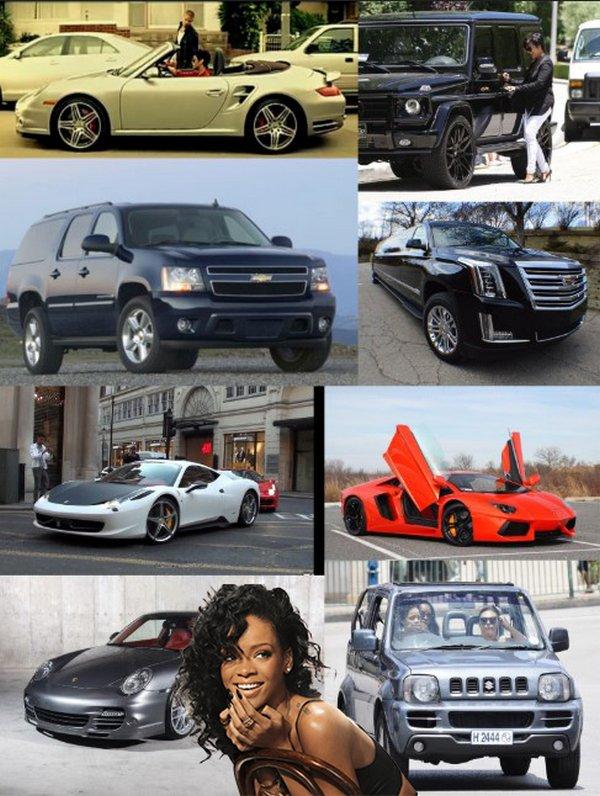 Rihanna-car-collection