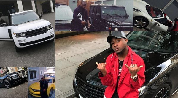 davido-car-collection