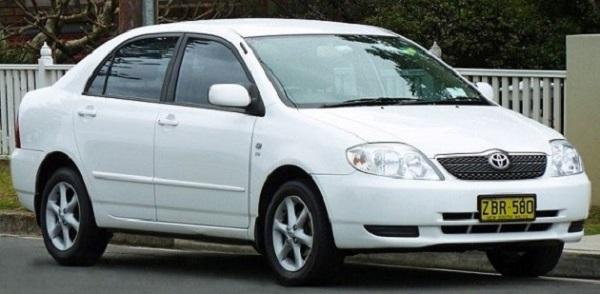 Toyota-Corolla-ninth-generation-E120-model