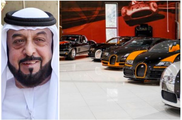 Sheikh-Khalifa-car-collection