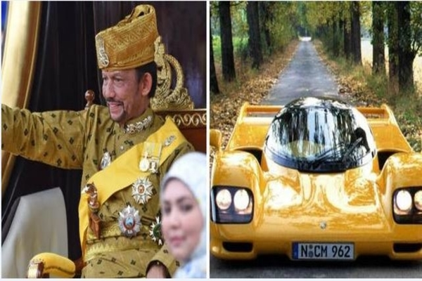 Sultan-Hassanal-Bolkiah-wife-and-car