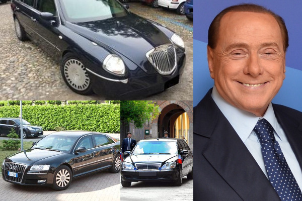 Silvio-Berlusconi-and-his-AudiA8-and-Pullman-cars