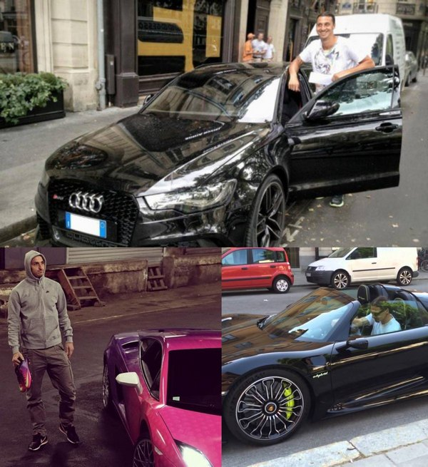 zlatan-ibrahimovic-and-his-cars