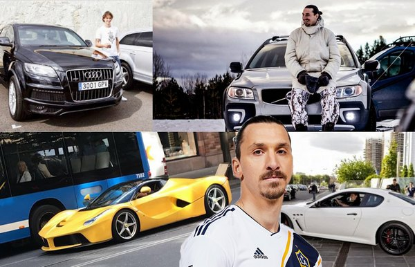 ibrahimovic-cars