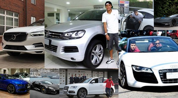 Neymar-and-his-cars