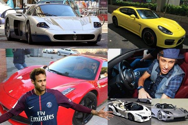 neymar-cars