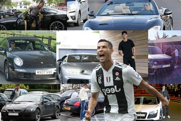 Ronaldo-and-his-cars