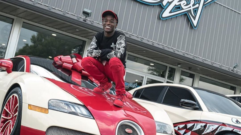 Lil Uzi Acquires A 618 Million Bugatti Grand Sport Previously Owned By Floyd Mayweather Naijacarnews Com