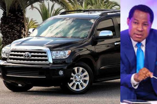 Pastor-Chris-with-Toyota-Sequoia