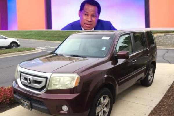 Chris-Oyakhilome-and-Honda-Pilot