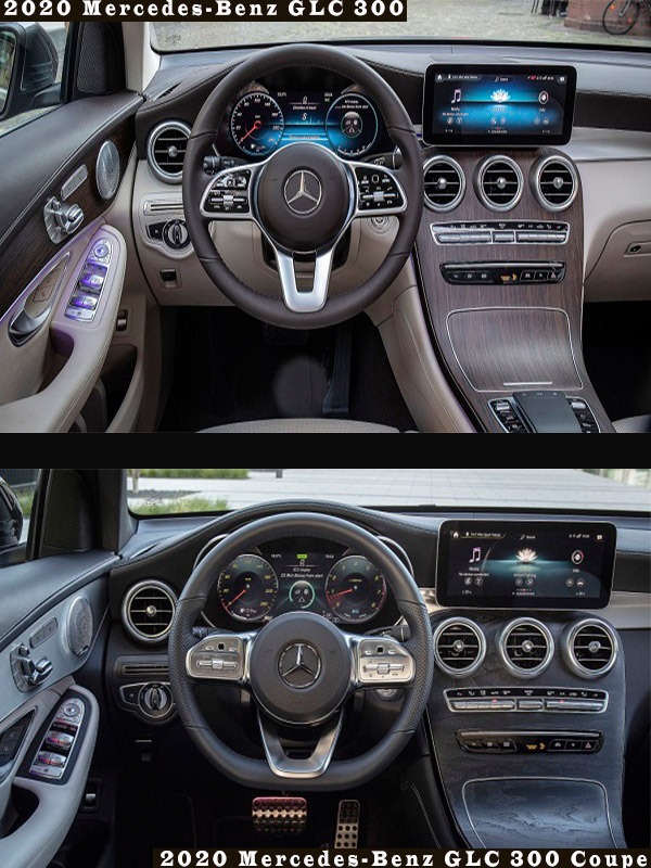 First Drive Comparison Of 2020 Mercedes Benz Glc 300 And Glc