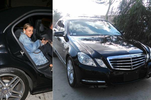 Tinashe-in-her-Mercedes-Benz-E350