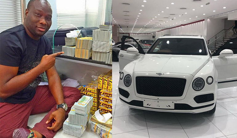 Mompha's val gift to his wife: the Bentley Bentayga SUV worth ...