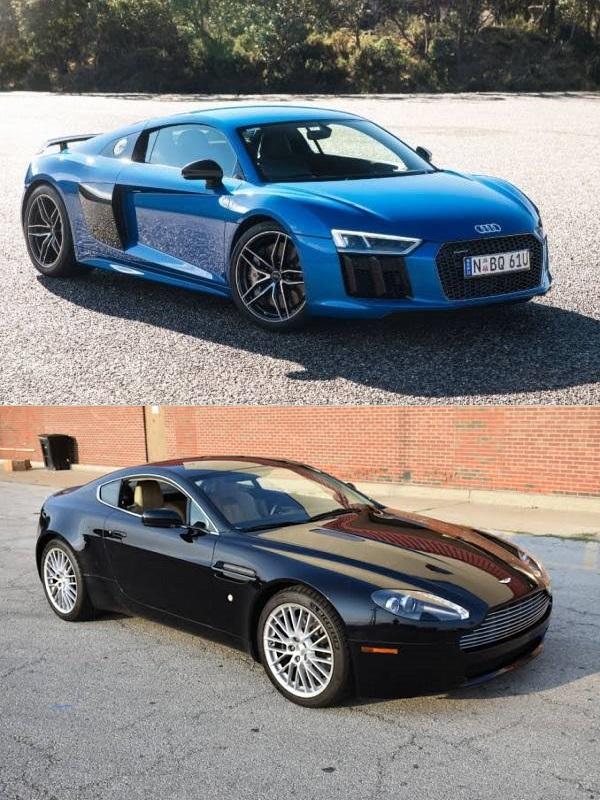 Audi-r8-and-Aston-Martin-v8-Vantage