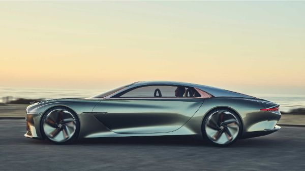 Bentley EXP 100 GTside view