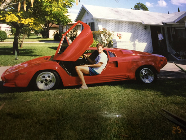 Lamborghini-first-built-by-Mike-Vetter