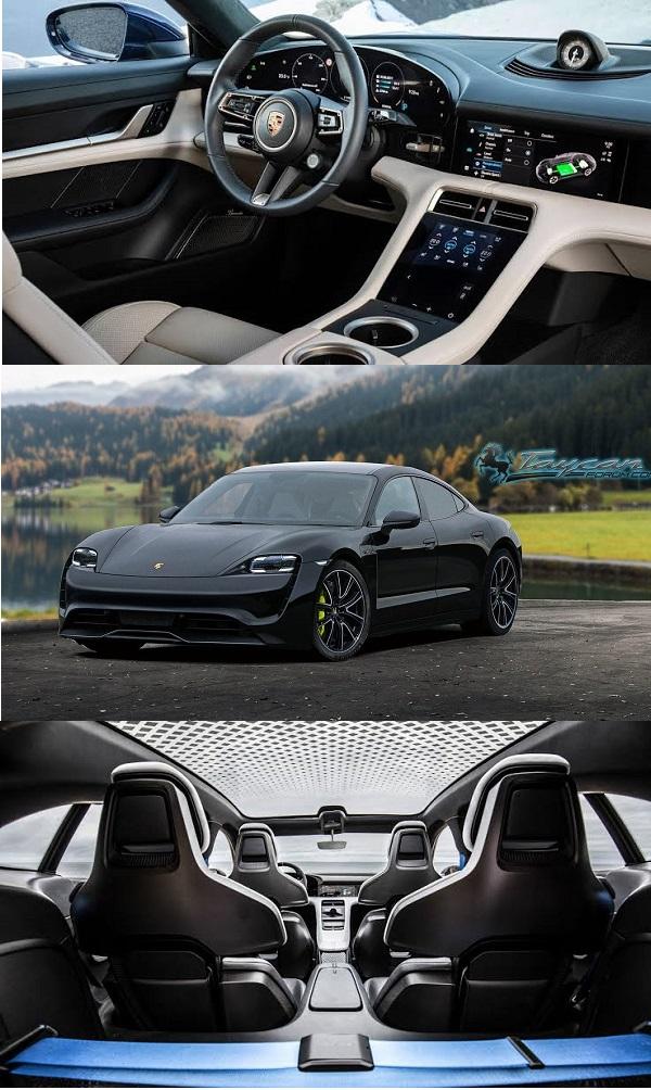 Interior-and-exterior-of-Porsche-Taycan
