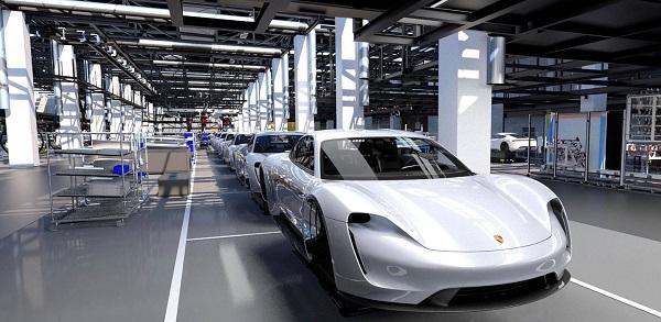 Porsche-Taycan-assembly-line