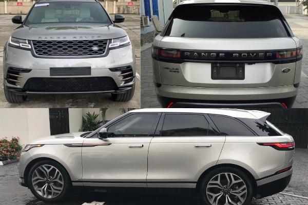 Range-Rover-Velar-park-in-a-residential-premises