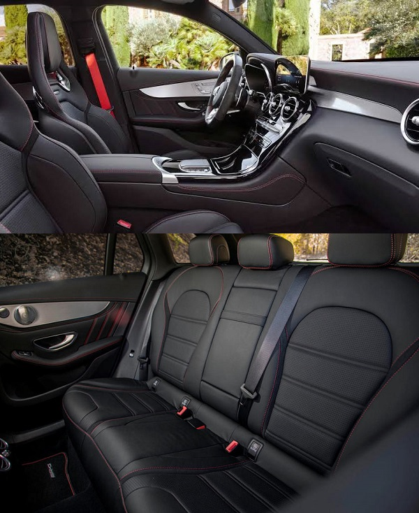 2020-Mercedes-AMG-GLC-43-front-and-back-seat
