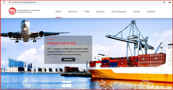 professional-shippingng-website