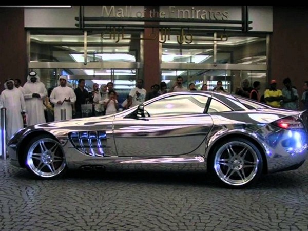 pure-white-gold-benz-in-dubai